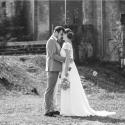 Lichtfabriek Buitenterrein Huwelijk Bruidspaar Close-up